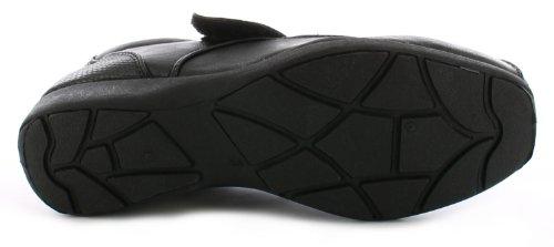 Dr lagerpoint - cuña de zapatos de tacón para mujer - negro UE 36-41