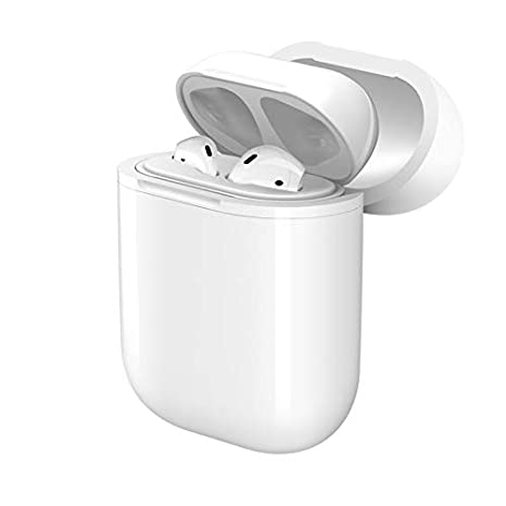 uk availability 45bf0 ef56a Wireless Qi Charging Protective Cover - Apple AirPods Case Accessory  (Requires an existing AirPods Case + a Wireless Charging pad)