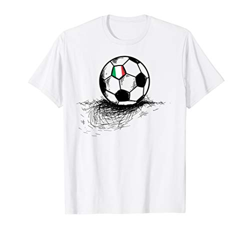 Italy Soccer Ball Flag Jersey Shirt - Italian Football Gift