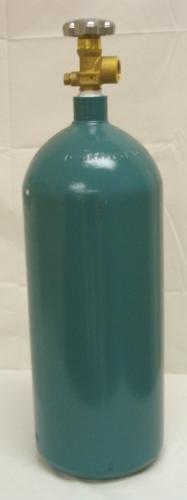 40 cu/ft Argon-Nitrogen-Helium Welding Tank CGA 580 -EMPTY