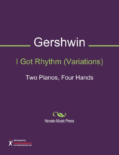 I Got Rhythm Variations (Two Pianos, Four ()