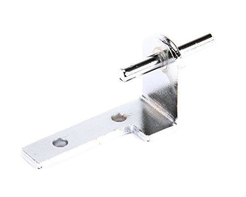 Beverage-Air 401-228A-01 Center Right-Hand Door Hinge Bracket for Compatible Beverage-Air Merchandisers and Reach-Ins, Chrome