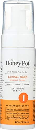 The Honey Pot – Normal Foaming Wash – Feminine Cleanse – 99% Natural – Herbal Formula – NO Artificial Fragrance…