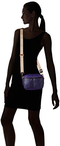 Bensimon Xs Bag - Bolso bandolera Mujer Bleu (Bleu Violet)