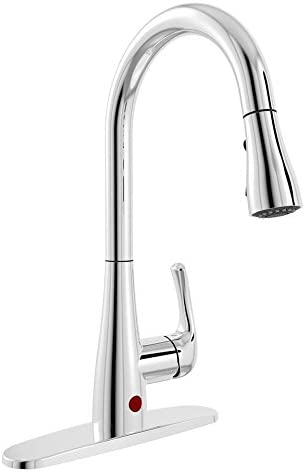 Plumb Pak NEX76CCP Kitchen Sink Faucet with Pull Down Spout, 2.2 Gpm, 16-5 8 in H, Polished Chrome