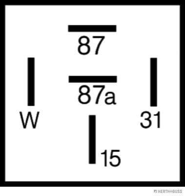 H+B ELPARTS 75898345 Relais