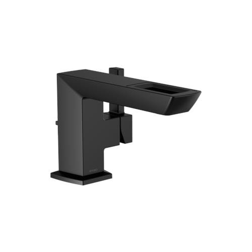 Handle Open Spout - Brizo 65086LF-BL-ECO - Brizo Vettis: Single-Handle Lavatory Faucet With Open-Flow Spout Matte Black 65086LF-BL-ECO.