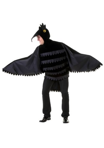 Adult Crow Costume Standard (The Birds Costume Male)