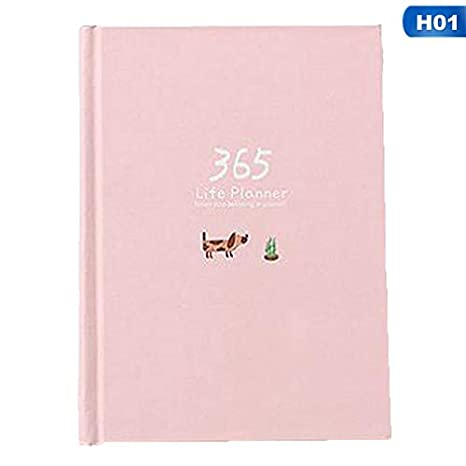 Amazon.com: Daisy Storee Cute Stationery Notebook 365 ...