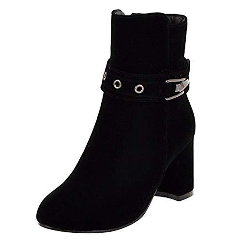Aiyoumei Nero Donna Aiyoumei Donna Classici Aiyoumei Stivali Nero Classici Stivali Nero Donna Classici Aiyoumei Stivali Stivali 4aqwCTWS