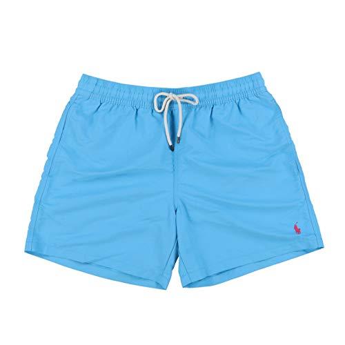 Polo Ralph Lauren Mens Bathing Suit Bottoms (X-Large, Margie Blue)