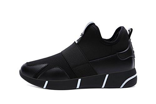 Las mujeres de moda verano pareja transpirable Running Zapatillas Casual zapatos de senderismo Negro