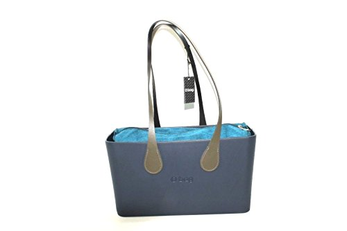 Blu Collection Manico Lungo Vulcano City Ottanio k Con O 20178 E Sacca Bag Ai Borsa New wxqB87t