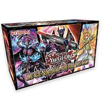 Yu-Gi-Oh! Cards Legendary Hero Decks - 5 Ultra Rare Trading Cards + A Playmat ()