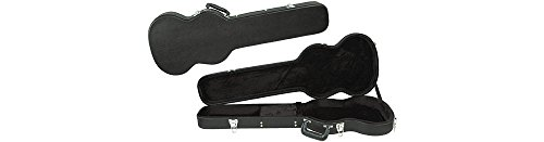 Musician's Gear Deluxe SGS Solid-Guitar-Style Hardshell Case Black