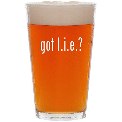 got l.i.e.? - 16oz All Purpose Pint Beer ()