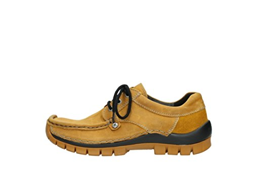 Lace Wolky Amarillo 04734 comodidad Fly Up nbsp;seamy Zapatos 550grxq