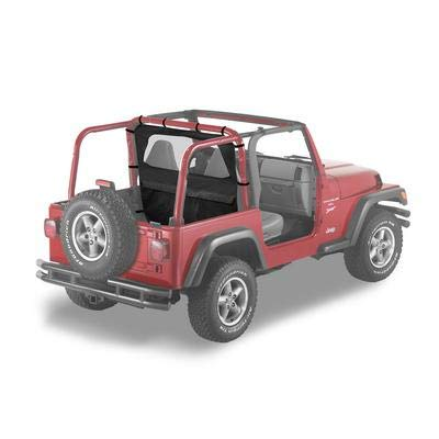 Bestop 80032-35 Black Diamond Windjammer Wind Break for 2003-2006 Wrangler TJ including Unlimited