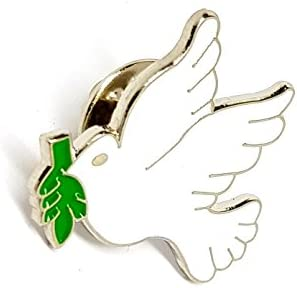 "NEW PEACE FROGS 1/"" IRELAND FLAG LAPEL PIN"