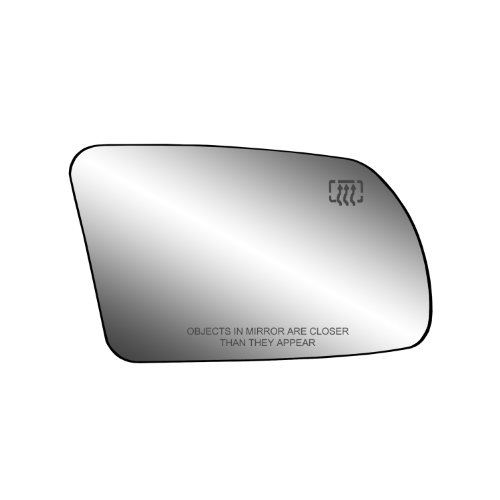 Fit System 30213 Nissan Altima 2.5L Engine Coupe/Sedan Right Side Heated Power Foldaway Replacement Mirror Glass with Backing Plate and Turn Signal Coupe Power Side Mirrors