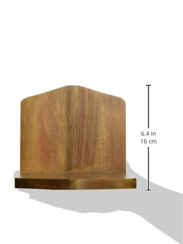 Lipper International 1160 Acacia Wood Adjustable Napkin Holder, 6-1/2'' x 3-1/4'' x 6'' by Lipper International (Image #3)