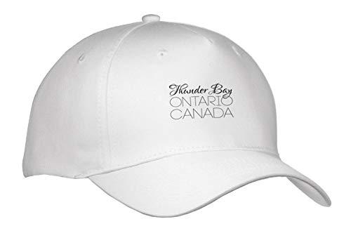 Alexis Design - Canadian Cities - Thunder Bay Ontario, Canada. Chic, Unique Patriotic Home Town Gift - Caps - Adult Baseball Cap (Cap_304853_1)