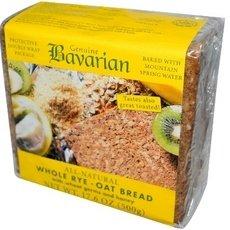 Honey Oat Bread - Bavarian Bread, Bread Rye With Oats And Honey Organic, 17.6 Ounce
