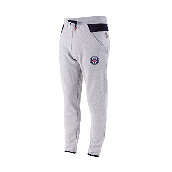 PARIS SAINT GERMAIN Pantalon Molleton PSG - Collection Officielle Taille Homme