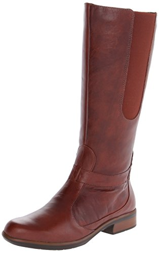 Naot Women's Viento Riding Boot, Luggage Brown Leather, 4...