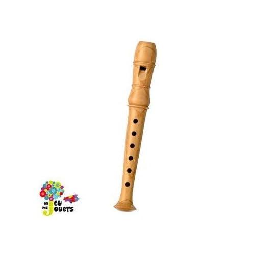 Flute en bois instrument de musique pour enfant Jouet musical - Moyen