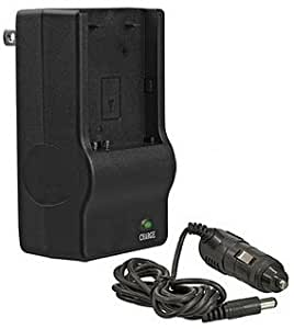 Kodak Easyshare DX6490, DX7440, DX7590, DX7630 - Replacement Battery Charger (Incl. Car Adapter)