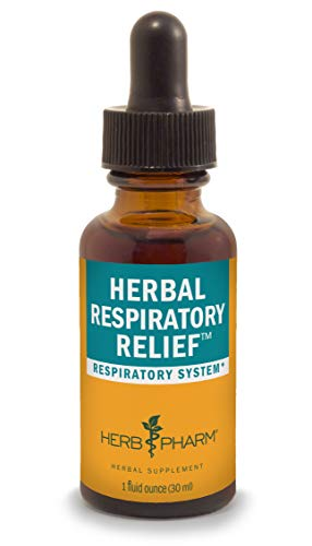 Herb Pharm Herbal Respiratory Relief Liquid Formula with Wild Cherry Liquid Extract - 1 Ounce
