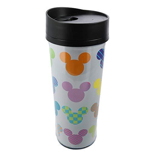 Jerry Leigh Disney Mickey Mouse Acrylic Travel Coffee Mug, Icon