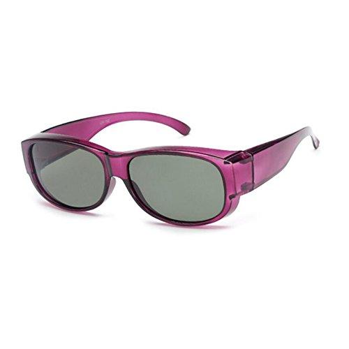 HONEY Combinación De Gafas De Sol Y Miopía Polarizadas, Gafas Deportivas, Diseño De Gafas Graduadas (Color : D) : Amazon.es: Jardín