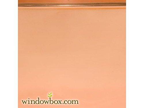 30'' Copper Window Box Liner