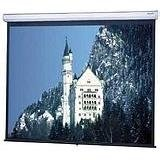 Model C Matte White Manual Projection Screen Viewing Area: 60