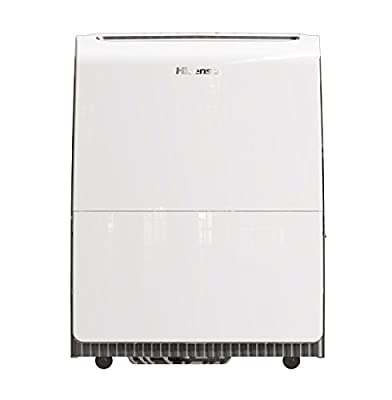 Hisense 100Pint Inverter Dehumidifier with Pump, White