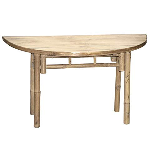 Awesome Amazon Com Bamboo End Table Semi Circle End Table Spiritservingveterans Wood Chair Design Ideas Spiritservingveteransorg