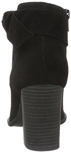 Vero Moda Vmfena Leather Boot, Zapatillas de Estar por Casa para Mujer Negro