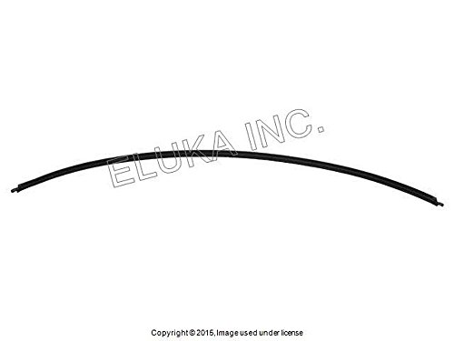 BMW Genuine Windshield Moulding Rear Lower  525i 525xi 530i 530xi 545i 550i M5 528i 528xi 535i 535xi 550i (Molding Rear Lower)