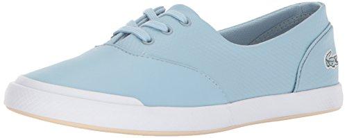 Lacoste 3 Sneakers Da Donna Lacoste Blu Chiaro / Pelle Naturale