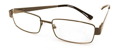 Bifocal Photochromic Reading Glasses Transition Readers (Brown, - Lenses Prescription Transition