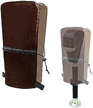 Capa de protector de língua elétrica, capa de capa de protector de língua de poliéster RV 600D para trailer, c