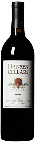 Zinfandel Old Vine (2013 Hansen Cellars Old Vine Zinfandel 750 mL)