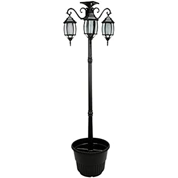 Amazon Com Gama Sonic Baytown Solar Lamp Post And Single