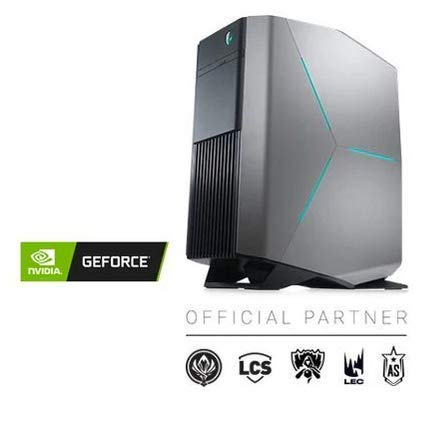 2019_Dell_Alien.Ware Aurora R8 Gaming Desktop, 9th-Gen Intel Core i7=9700, 16GB=DDR4 RAM, 1TB SSD, HDMI, Wireless+Bluetooth, NVIDIA=GeForce=RTX=2070=8GB=GDDR6, HDMI,Window 10
