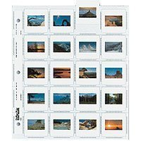 Print File 35mm Slide Pages Holds Twenty 2x2