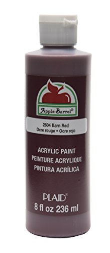 Apple Barrel Acrylic Paint in Assorted Colors (8 oz), K2604 Barn Red]()