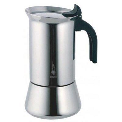 Bialetti Venus Elegance Cafetera Moka, capacidad de 10 tazas, para todo tipo de cocinas, incluidas las vitrocerámicas de inducción