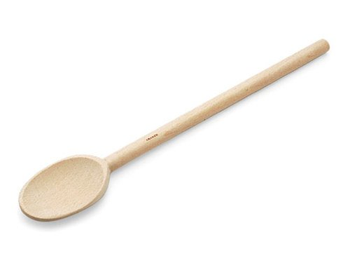 French Beechwood Mixing Spoon - H.A. Mack 12-in. French Beechwood Mixing Spoon.